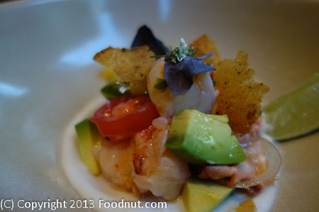 1760 San Francisco Lobster ceviche