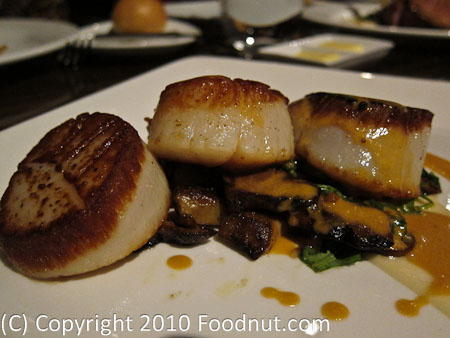 25 Lusk Twenty Five Lusk San Francisco seared diver scallops