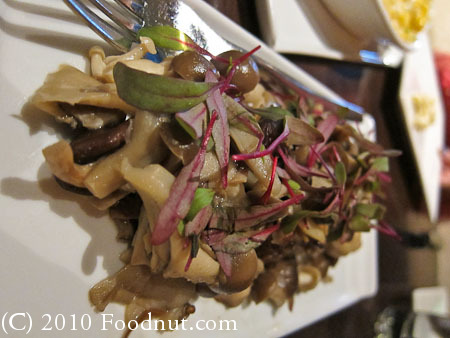 5A5 Steak Lounge San Francisco mushrooms