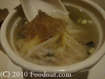 ABC Seafood Dim Sum Foster City Sharks Fin Dumpling in soup