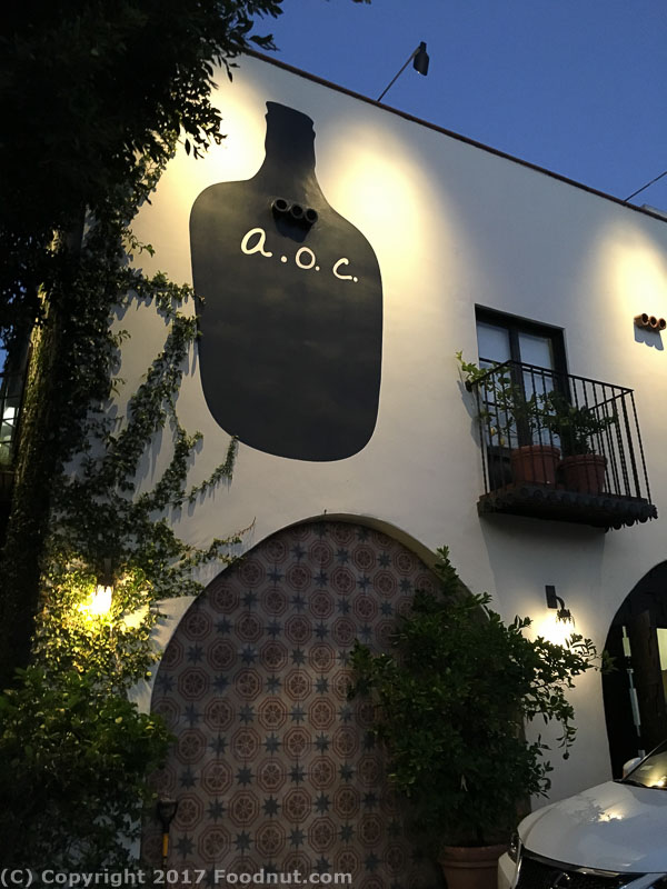 AOC Los Angeles Exterior Decor