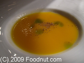 Acquerello San Francisco Cantalope Puree