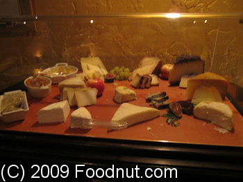 Acquerello San Francisco Cheese Cart