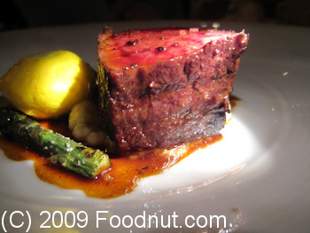 Acquerello San Francisco Grilled Kobe Short Rib