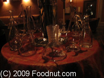 Acquerello San Francisco Wine Decanters