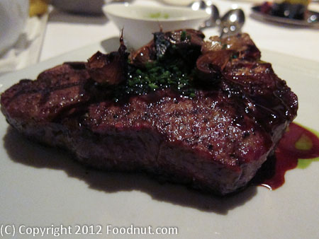 Alexanders Steakhouse Cupertino T Bone