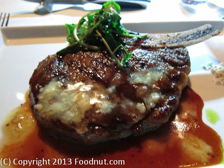 Alexanders Steakhouse San Francisco dry aged bone in ribeye steak
