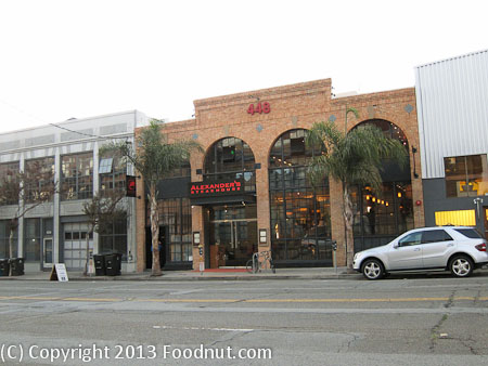 Alexanders Steakhouse San Francisco exterior decor