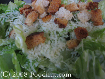 Alices Restaurant Caesar Salad