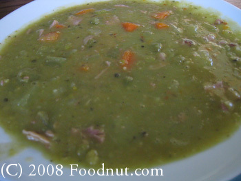 Alices Restaurant Split Pea Soup