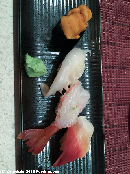 An Japanese Restaurant San Francisco Nigiri Sushi ala carte