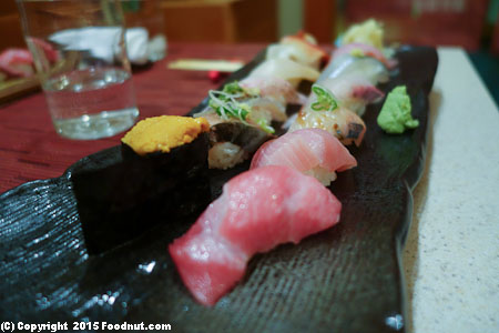 An Japanese Restaurant San Francisco Omakase Nigiri 12pc
