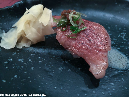 An Japanese Restaurant San Francisco wagyu beef