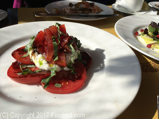Angelini Osteria Los Angeles caprese salad