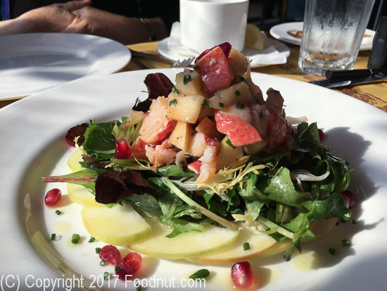 Angelini Osteria Los Angeles lobster salad