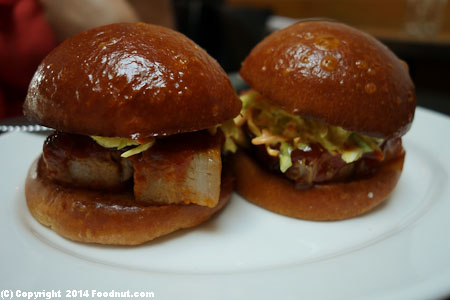 Animal Los Angeles pork belly sandwich