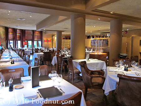 Araxi Restaurant Whistler BC Canada Interior decor