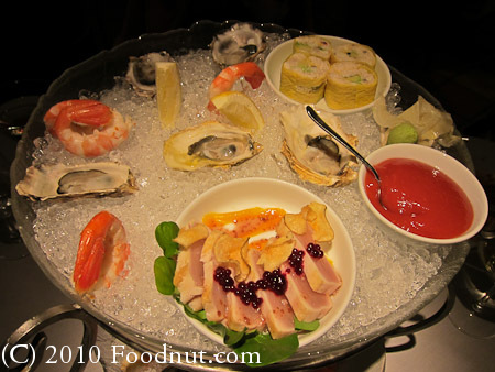 Araxi Restaurant Whistler BC Canada seafood tower