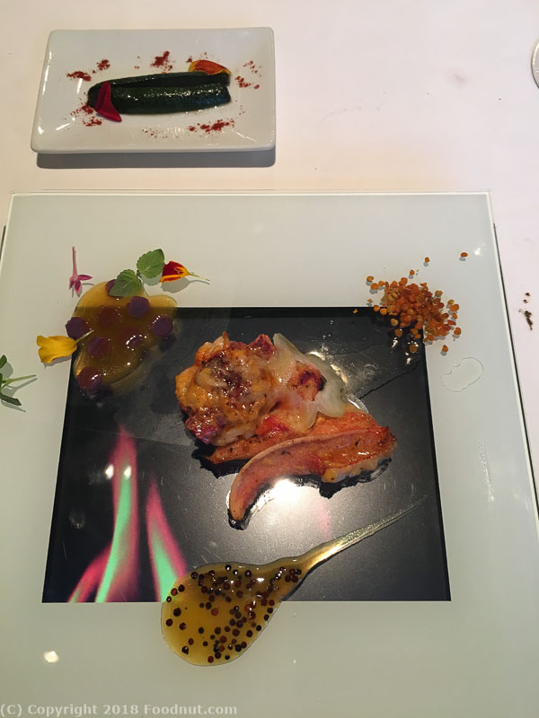 Arzak San Sebastian Lobster on a tablet