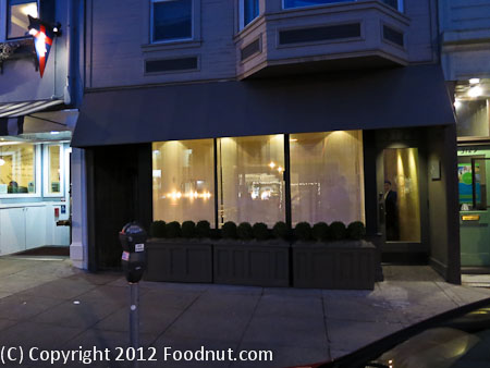 Atelier Crenn San Francisco Exterior Decor