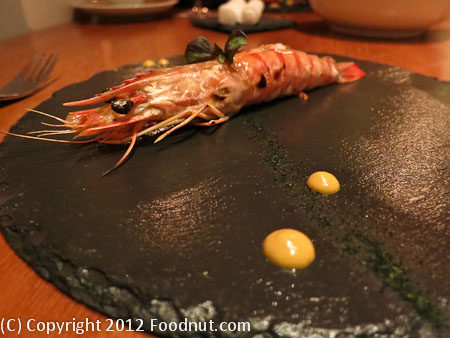 Atelier Crenn San Francisco Prawn