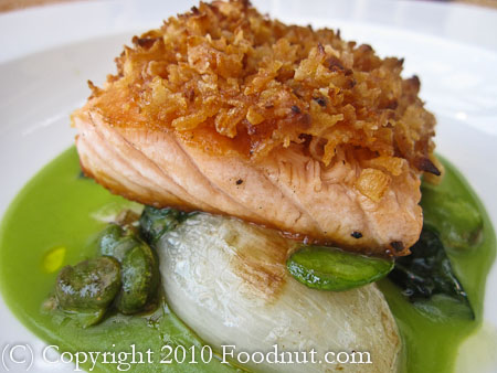 Auberge du Soleil Rutherford Scottish Salmon