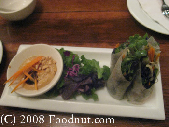 B Star San Francisco Spring Roll 2