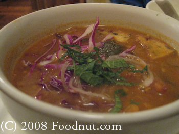 B Star San Francisco Vegetarian Samusa Soup