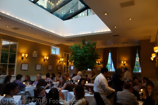 Babbo New York interior decor