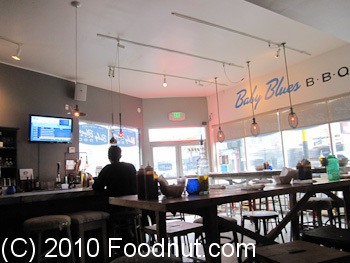 Baby Blues BBQ San Francisco Interior Decor