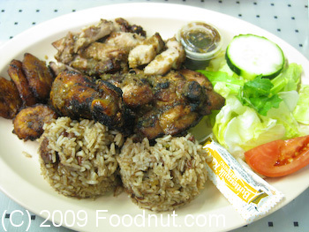 Back A Yard Menlo Park Jerk Chicken and Jerk Pork