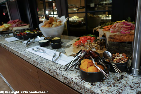 Ballys Sterling Brunch Buffet Las Vegas Antipasti
