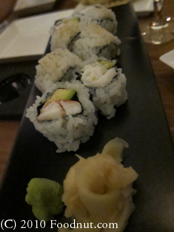 Bar Masa Las Vegas California Roll