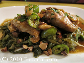 Barbacco Eno Trattoria San Francisco chicken thighs