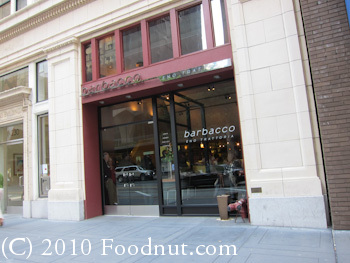 Barbacco Eno Trattoria San Francisco exterior decor