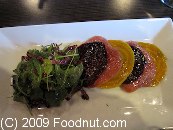 Baxters Bistro and Lounge Truckee Beet Salad