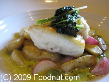 Baxters Bistro and Lounge Truckee Halibut