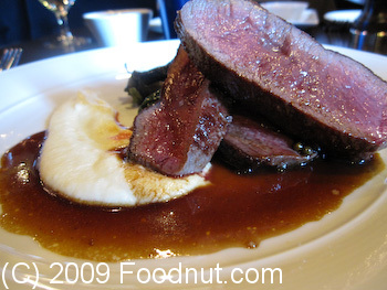 Baxters Bistro and Lounge Truckee Venison