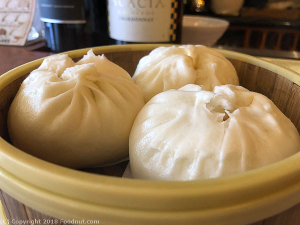Begoni Bistro San Francisco Steamed Pork Buns