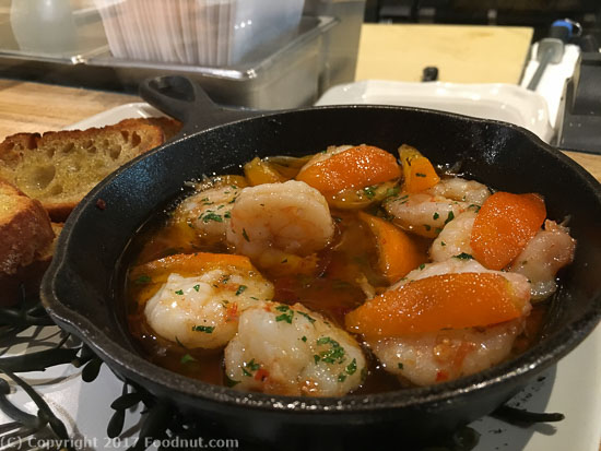 Bellota San Francisco gambas