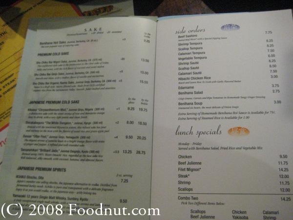 Benihana Restaurant, San Francisco  Benihana Restau...