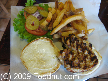 Big Mouth Burgers San Francisco Chicken Breast