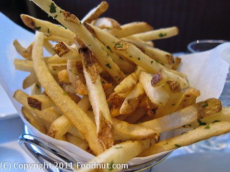 Bistro Jeanty Yountville Frites