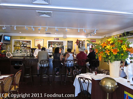 Bistro Jeanty Yountville interior decor