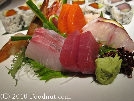 Blue Water Cafe Vancouver BC Canada sashimi platter