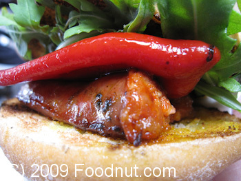 Borough Market London UK Chorizo Sandwich