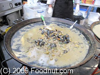 Borough Market London UK Paella