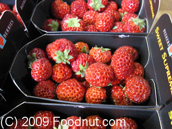 Borough Market London UK Strasberry
