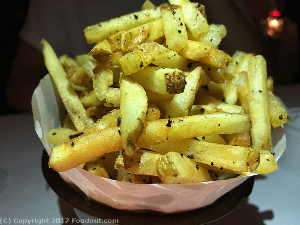 Bouchon Yountville Truffle fries