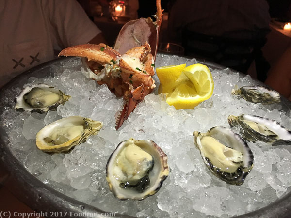 Bouchon Yountville oysters lobster
